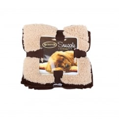 Snuggle Pet Blanket Chocolate Brown