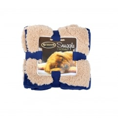 Snuggle Pet Blanket Navy Blue