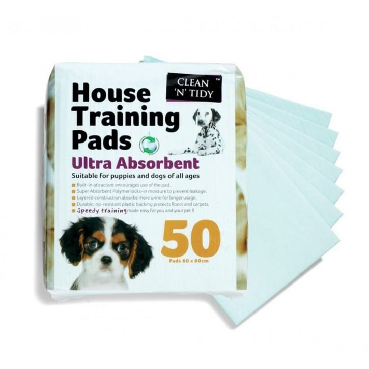 Sharples 'N' Grant Clean 'n' Tidy Puppy House Training Pads 50pack