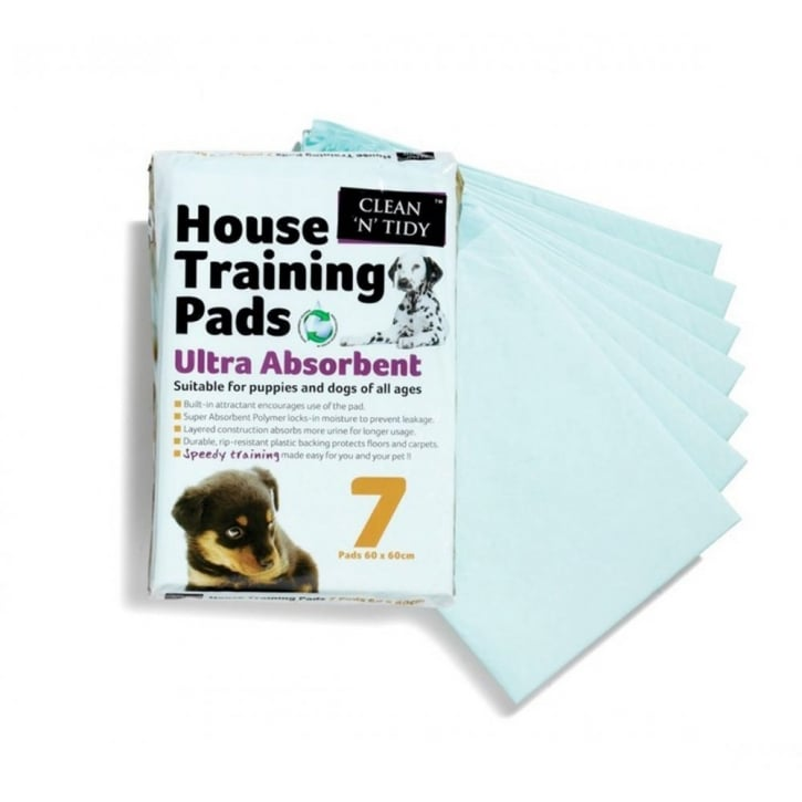 Sharples Clean 'n' Tidy puppy house training pads 7pack