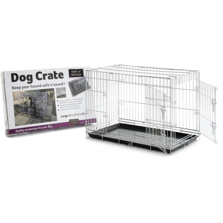 Sharples 'N' Grant Dog Crate 2 Door Opening - Large