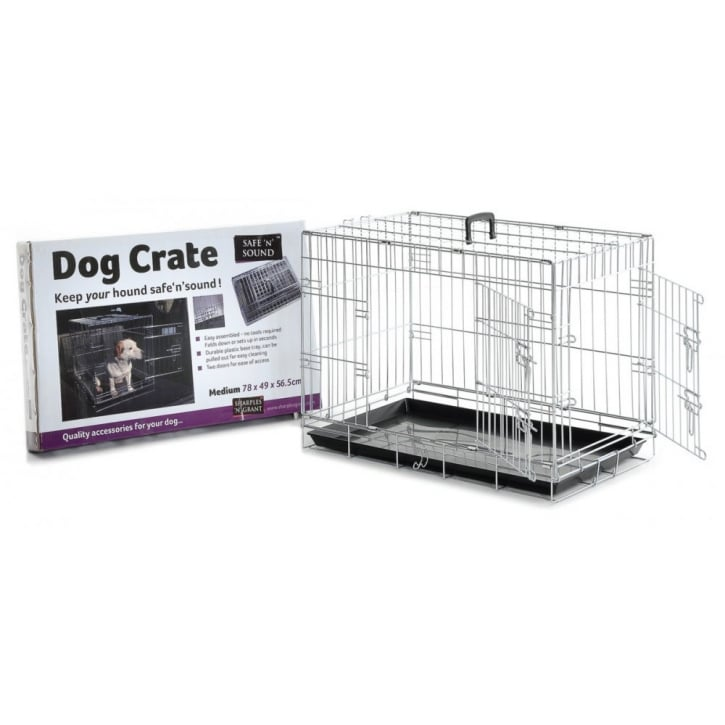 Sharples 'N' Grant Dog Crate 2 Door Opening - Medium