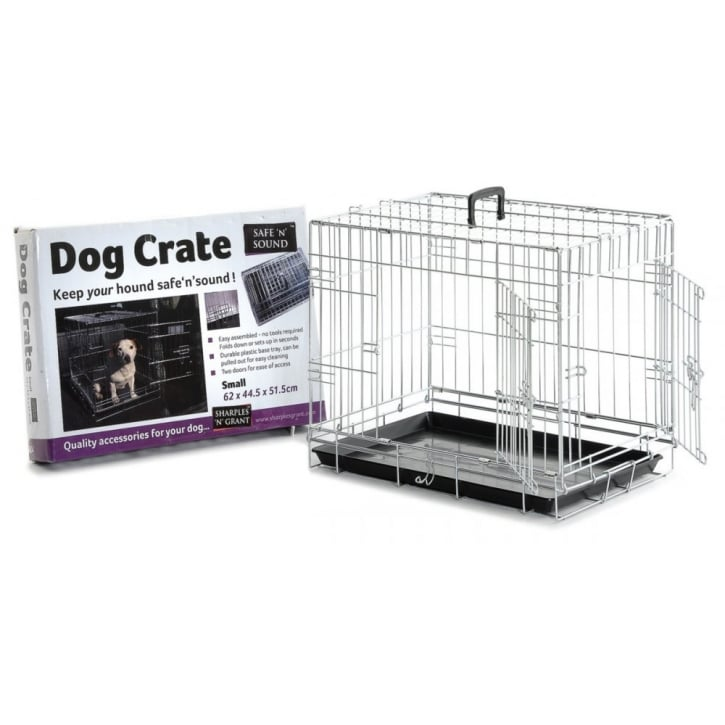Sharples 'N' Grant Dog Crate 2 Door Opening - Small