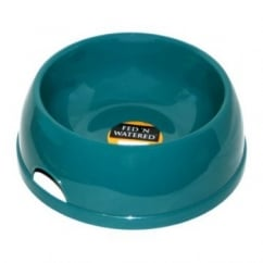 Fed'n'watered Classic Plastic Dog Bowl 14cm