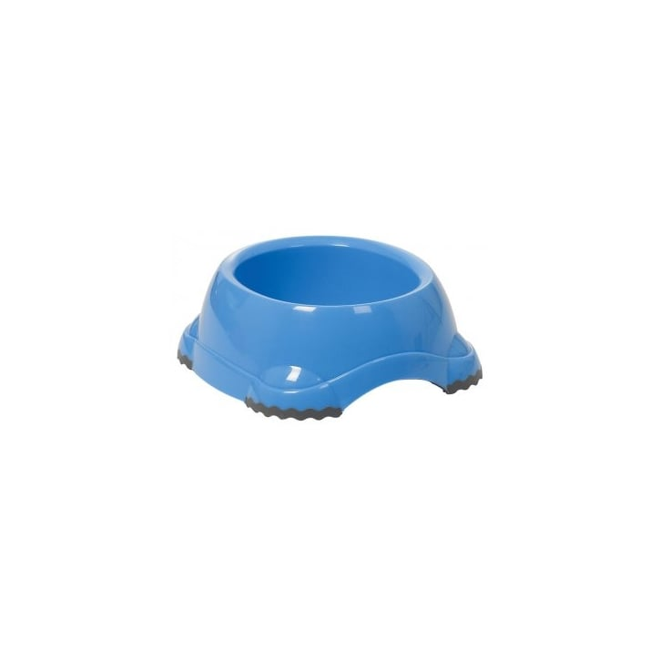 Sharples 'N' Grant Fed'n'watered Smarty Fun Plastic Dog Bowl 19cm - Blue