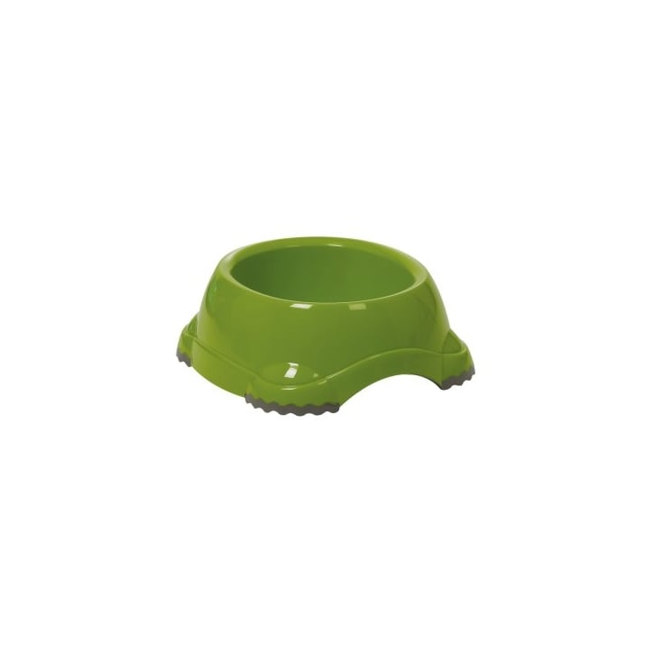 Sharples Fed'n'watered Smarty Fun Plastic Dog Bowl 19cm - Green