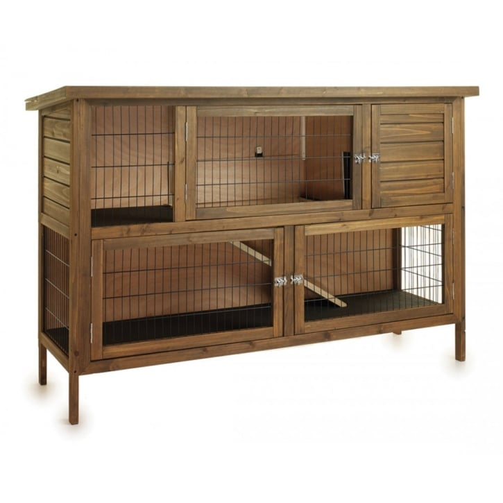 Sharples 39 n 39 grant hutch 39 n 39 down rabbit hutch extra for Extra large rabbit cage