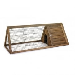 Hutch 'n' Run Rabbit & Guinea Pig Apex Run Hutch - Large