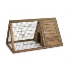 Hutch 'n' Run Rabbit & Guinea Pig Apex Run Hutch - Small