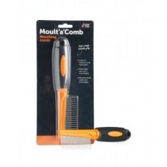 Sharples 'N' Grant Moult'a'Comb Dog Moulting Comb