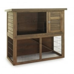 Sharples 'N' Grant Rabbit & Guinea Pig Hutch 'n' Run Double
