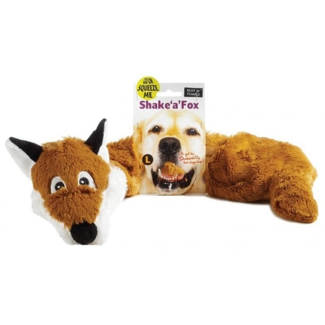 Sharples 'N' Grant Ruff 'n' Tumble Shake 'a' Fox Dog Toy Large