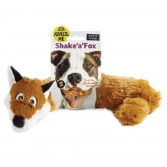 Sharples 'N' Grant Ruff 'n' Tumble Shake 'a' Fox Dog Toy Small