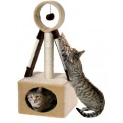 Satellite Scratcher and Play Cat Activity Centre