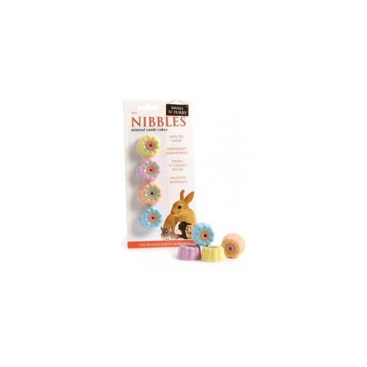 Sharples Small 'N' Furry Mineral Candy Cakes 4pcs