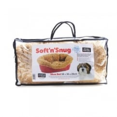 Soft 'n' Snug Dog Bed Insert 50cm