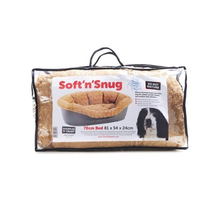 Soft And Snug Dog Bed Insert