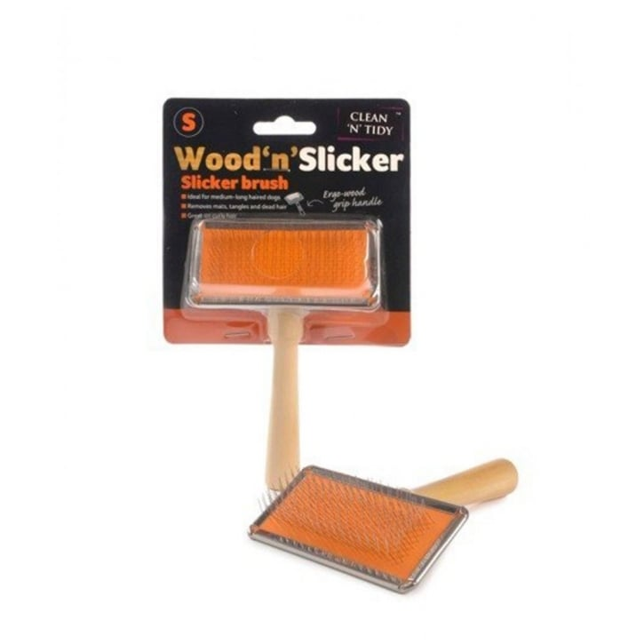 Sharples Wood'n'Slicker Dog Brush Small