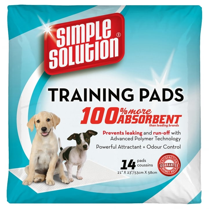 Simple Solution Simple Solution Puppy Dog Training Pads- 14 Pack Size