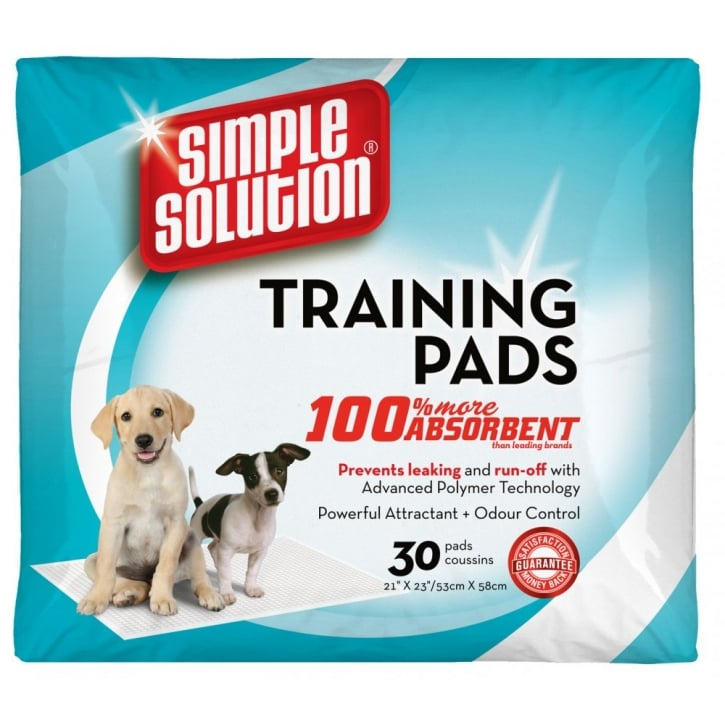 Simple Solution Simple Solution Puppy Dog Training Pads - 30 Pack Size