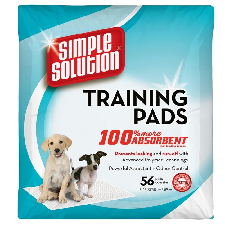 Simple Solution Simple Solution Puppy Dog Training Pads- 56 Pack Size