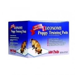 Simple Solutions Puppy Dog Training Pads- 100 Pack Size