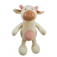 "Simply Fido Organic Millie Cow 11"" Plush Dog Toy"