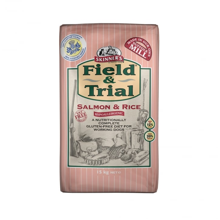 Skinner's Field & Trial Salmon & Rice Sensitive Adult Dog Food 15kg