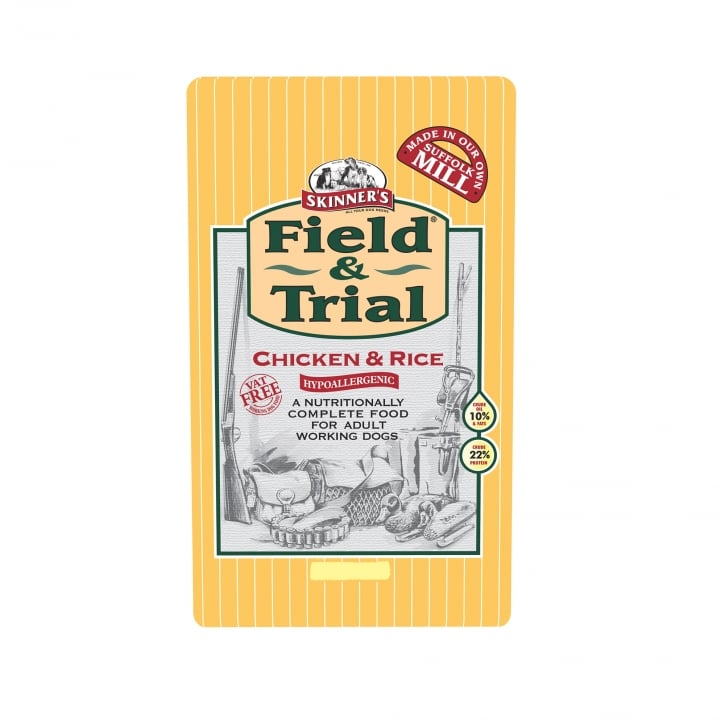 Skinner's Field & Trial Adult Chicken & Rice Dog Food 2.5kg