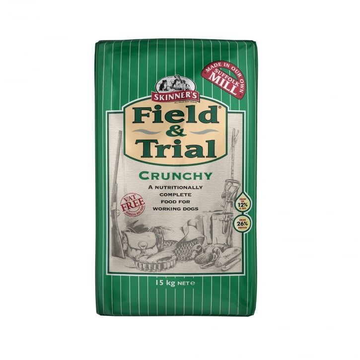 Skinner's Field & Trial Crunchy Adult Dog Food 15kg