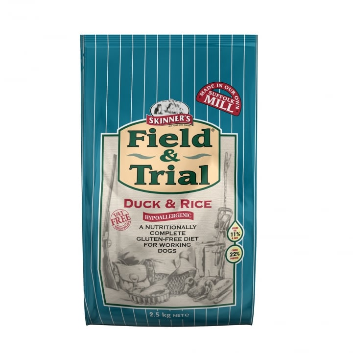 Skinner's Field & Trial Duck & Rice Adult Dog Food 2.5kg
