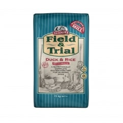 Field & Trial Duck & Rice Sensitive Adult Dog Food 15kg