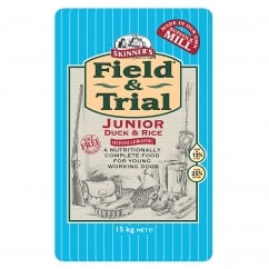 Field & Trial Junior Duck & Rice Dog Food 15kg