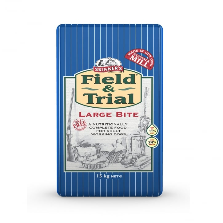 Skinner's Field & Trial Large Bite Adult Dog Food 15kg