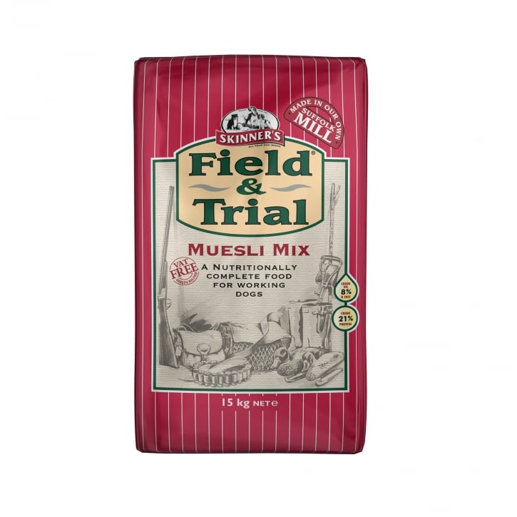 Skinner's Field & Trial Museli Mix Adult Dog Food 15kg