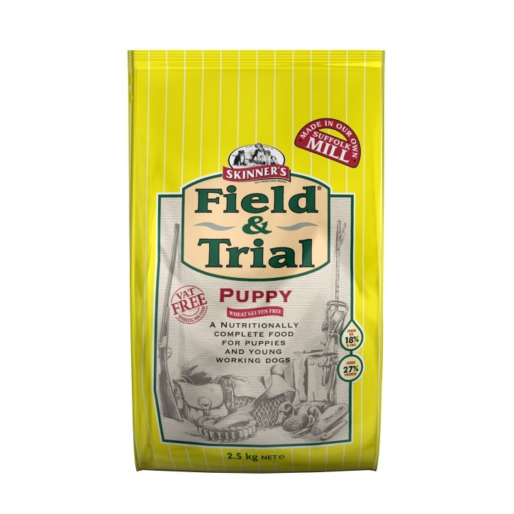Skinner's Field & Trial Puppy Dog Food Chicken & Rice 2.5kg