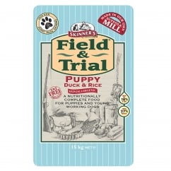 Skinner's Field & Trial Puppy Duck & Rice Dog Food 15kg