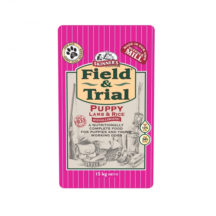 Skinner's Field & Trial Puppy Food Lamb & Rice 15kg