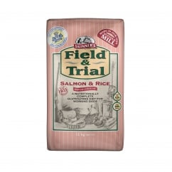 Field & Trial Salmon & Rice Sensitive Adult Dog Food 15kg