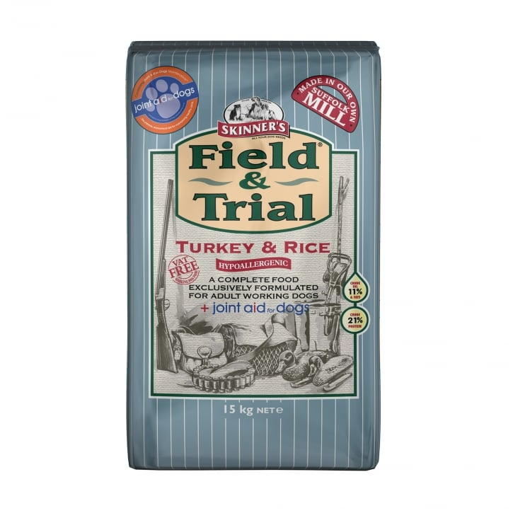 Skinner's Field & Trial Turkey & Rice Working Adult Dog Food 15kg