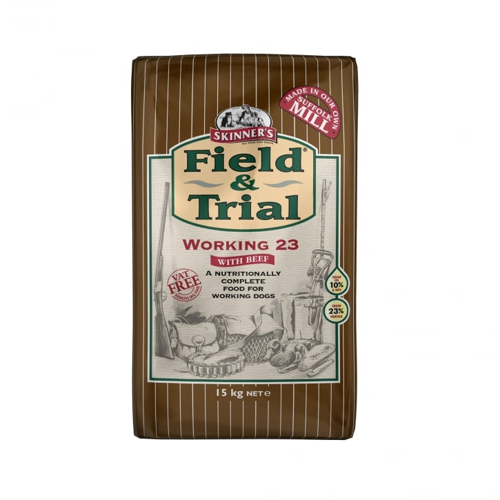 Skinner's Field & Trial Working 23 Dog Food With Beef 15kg