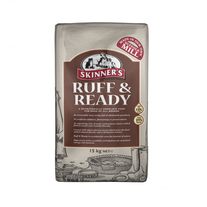 Skinner's Ruff & Ready Complete Adult Dog Food 15kg