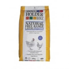Small Holder Natural Free Range Layers Pellets 20kg