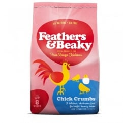 Spikes World Feathers & Beaky Free Range Chick Crumbs 4kg