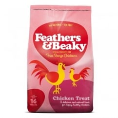Spikes World Feathers & Beaky Free Range Chicken Treat 5kg