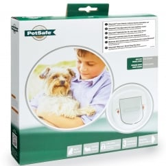 Big Cat/Small Dog Pet Door White - 280EF