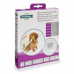 Original 2-Way Pet Door White (Small) - 715EF