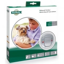 Staywell 280ef Big Cat Small Dog Flap - White