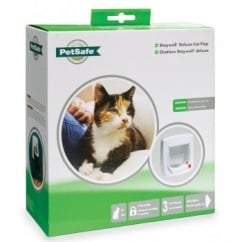 Staywell 300 Ef 4 Way Locking Cat Flap - White