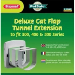 Staywell 350 Cat Flap Tunnel Extension - Grey